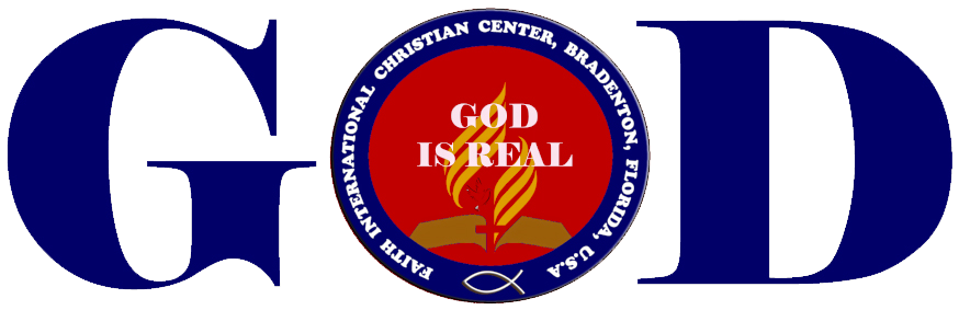 GOD IS REAL LOGO